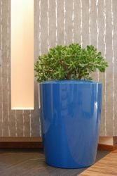 Anakena  Large Planter in Blue – H75xDia60