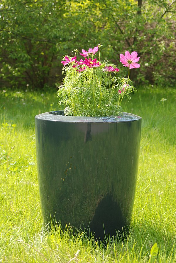 Anakena XXLarge Planter in Anthracite – H125cm x Dia100cm