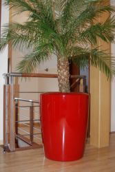 Anakena XXLarge Planter in Red – H125cm x Dia100cm