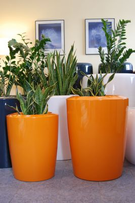 Anakena XXLarge Planter in Orange – H125cm x Dia100cm