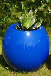Manacor Medium Planter in Blue  – H60xDia65