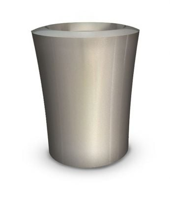 Garafia Medium Planter in Silver – H60xDia50