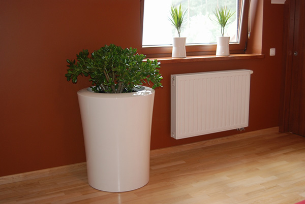 Garafia XXLarge Planter in White – H125cm x Dia100cm