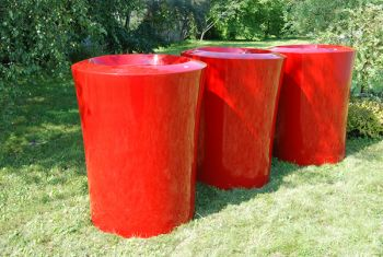 Garafia Large Planter in Red – H75xDia60