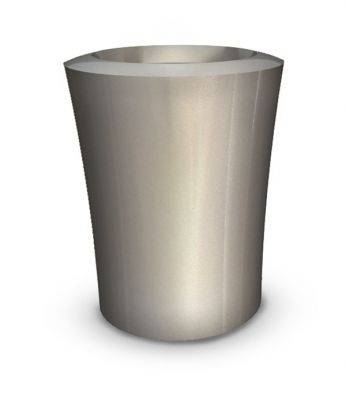Garafia  Large Planter in Silver – H75xDia60