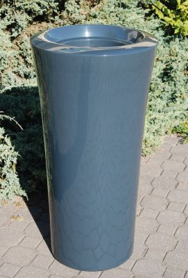 Parga XLarge Planter in Anthracite – H100xDia52