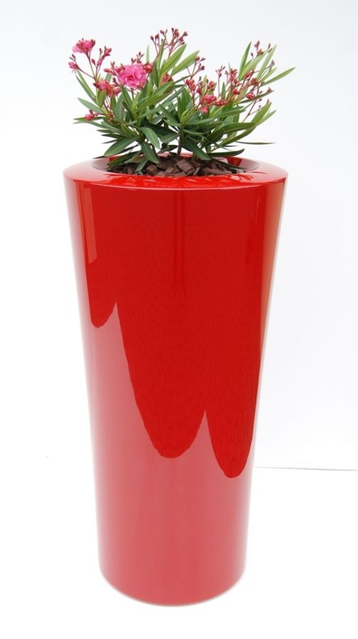 Parga XXLarge Planter in Red – H125xDia60