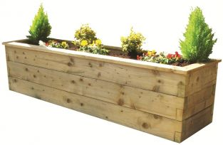 Sleeper Planter - 0.45m x 1.8m x 0.45m