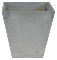 40cm Grey Ella Artstone Planter with Hidden Drainage System