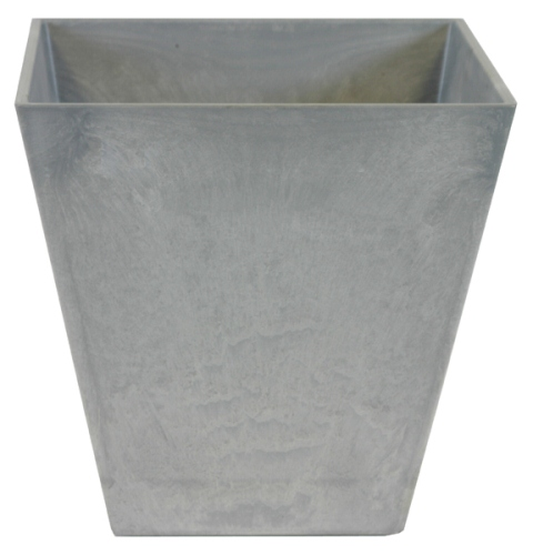 Grey Ella Artstone Planter with Hidden Drainage System - 40cm