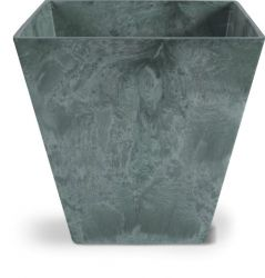 Green Ella Artstone Planter with Hidden Drainage System - 45cm