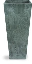 Green Ella Artstone Vase with Hidden Drainage System - 49cm