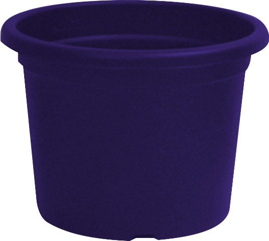 Purple Menfi Plastic Planter - 48cm Diameter