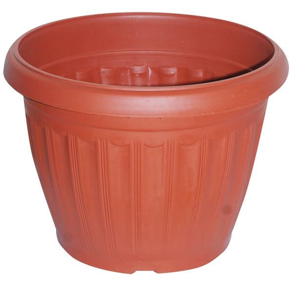 "43.2cm (17"") Round Ornamental Planter"