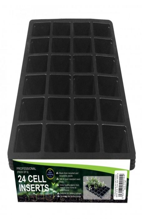 3 Pack Seedling Planter Tray 24 Cells