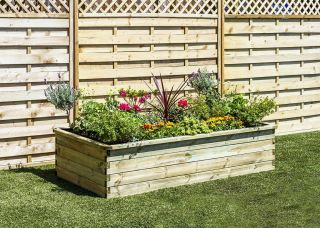 Zest 4 Leisure 1.8m (5ft 10in) 700L Sleeper Raised Bed Planter