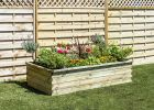 700 Litres - Sleeper Raised Bed by Zest4Leisure - 180cm x 90cm (H45cm)