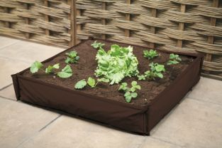250 Litres - Instant Raised Bed Patio Planter - 100cm² (H25cm)