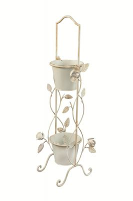 English Rose 2 Tier Garden Etagere Pot Planter Plant Theatre