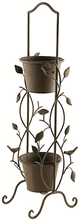 Nature 2 Tier Garden Etagere Pot Planter Plant Theatre