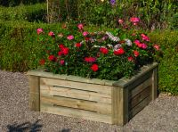 4x4 Raised Bed Planter - 553 Litres