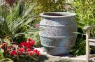 Ancient Stone Pot - Large  (61cm tall by 52cm wide)