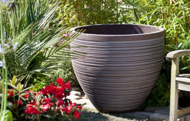 Contemporary Pot - Large  (70cm tall by 81cm wide)