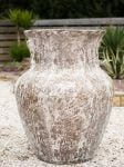 Giant Dark Clay Pot (68cm tall by 94cm wide)