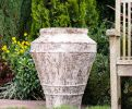 Rustic Stone Urn (55cm tall by 52cm wide)