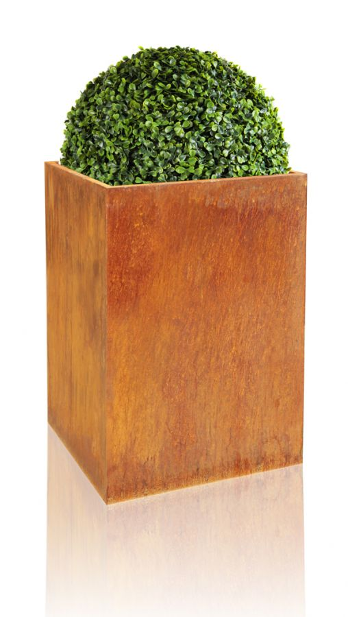 H75cm Large Corten Steel Planter