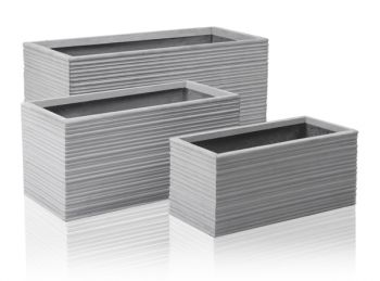 Berniss Fibrecotta Trough Planter - L80cm