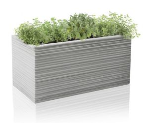 60cm Terracotta Fibrecotta Berniss Trough Planter