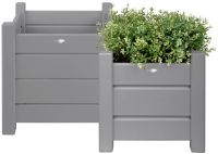 Square Versailles Planters - Set of 2 - 30cm/40cm