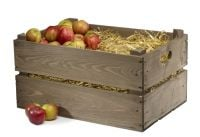 Stackable Apple Crate / Large Bushell Box H29cm x L55cm x D37cm