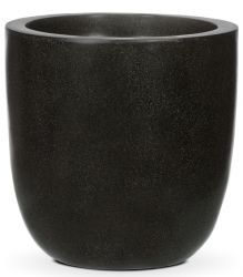 54cm Capi LUX Black Egg Planter