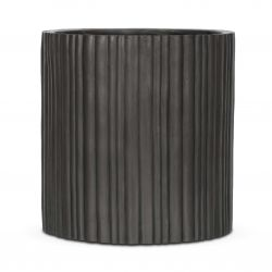 Capi Nature Antracite Cylinder Planter D50 x H50cm