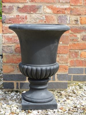 Redmile Urn Planter in Black H46cm x D34cm