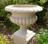 Barkestone Urn in 'Neutral' H58cm x D58cm