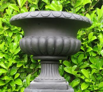 Barkestone Urn in Dark Grey H39cm x D46cm
