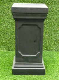 Clawson Plinth In Black H48cm x W24cm