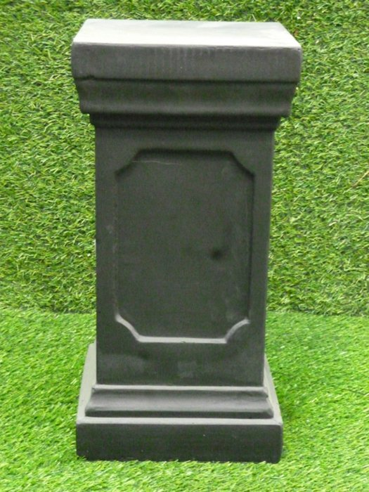 Clawson Plinth in Dark Grey H48cm x W24cm