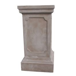 Clawson Plinth in Stone Colour H65cm x W33cm
