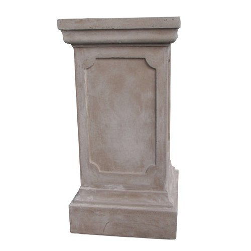 Clawson Plinth in Light Grey H65cm x W33cm