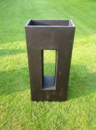 Grantham Planter In Black H96cm x W45cm