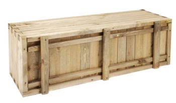 Raised Trough Pine Planter - H40cm x W1.2m