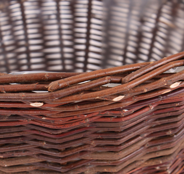 Wicker Round Basket Planter with Handles D45cm by Papillon�