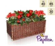 Wicker Trough Planter L85cm by Papillon�