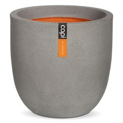 54cm Capi Tutch Round Planter - Grey