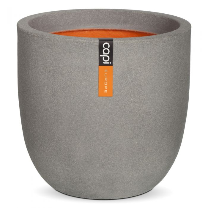 43cm Capi Tutch Round Planter - Grey