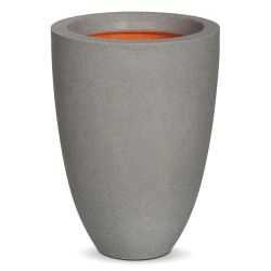 36cm Capi Tutch Low Vase Planter - Grey